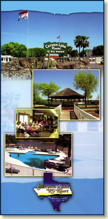 Canyon Lake RV Resort is the finest Mission,TX RV park you'll find